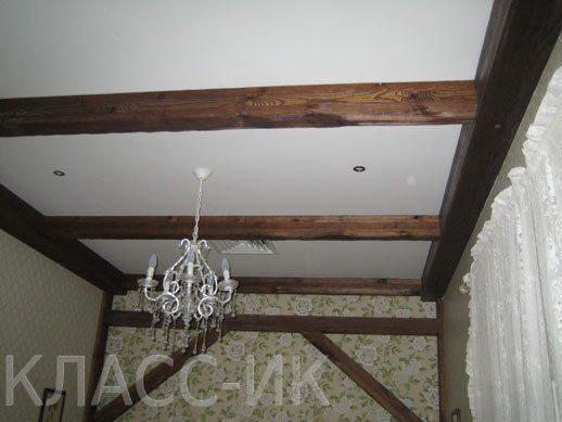 Как сделать потолок с балкой фото - AVTOpantera.ru